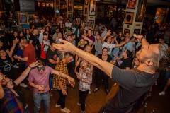 Party JYSK Hard Rock Cafe Bucuresti - Red Parlament - Vocalist Doru Isaroiu