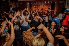 Echipa JYSK se distreaza la maxim la Party Red Parlament in HARD ROCK CAFE Bucuresti